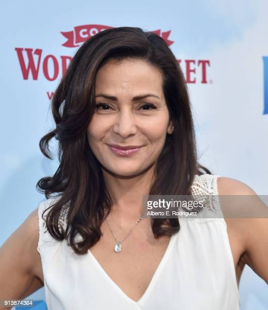"""Actress Constance Marie attends the premiere of Columbia Pictures' """"Peter Rabbit"""" at The Grove on February 3, 2018 in Los Angeles, California."""