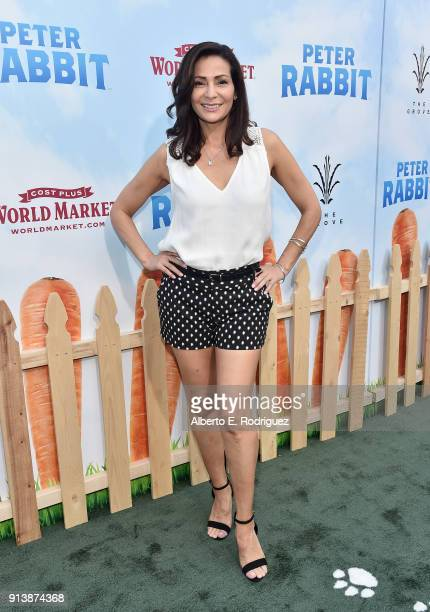 Actress Constance Marie attends the premiere of Columbia Pictures' Peter Rabbit at The Grove on February 3 2018 in Los Angeles California