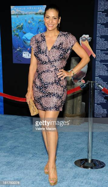 Actress Constance Marie attends the premiere of Disney Pixar's Finding Nemo Disney Digital 3D at the El Capitan Theatre on September 10 2012 in...