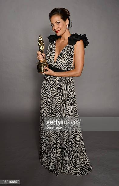 Actress Constance Marie poses for a portrait during the 2012 NCLR ALMA Awards at Pasadena Civic Auditorium on September 16 2012 in Pasadena California