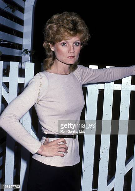 Actress Constance McCashin on November 30 1983 poses for an exclusive photo session at her home in Los Angeles California