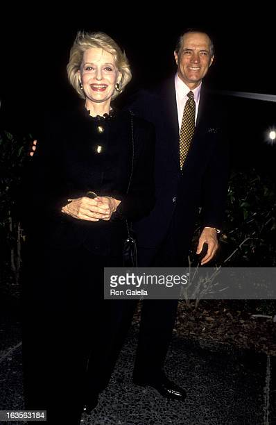 Actress Constance Towers and actor John Gavin attend 12th Annual Drug Abuse Prevention Awards on October 23, 1993 at the Hitchcock Theater in...