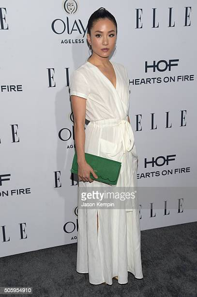 Actress Constance Wu attends ELLE's 6th Annual Women In Television Dinner at Sunset Tower Hotel on January 20 2016 in West Hollywood California