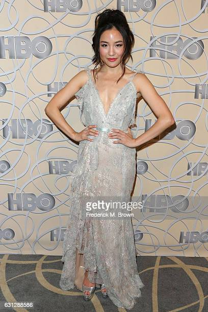Actress Constance Wu attends HBO's Official Golden Globe Awards After Party at Circa 55 Restaurant on January 8 2017 in Beverly Hills California