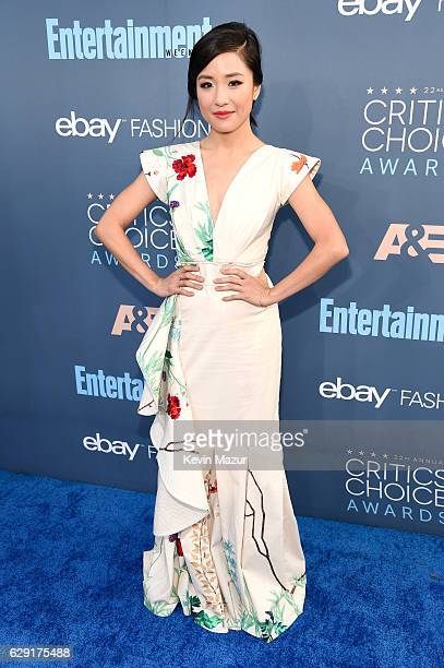 Actress Constance Wu attends The 22nd Annual Critics' Choice Awards at Barker Hangar on December 11 2016 in Santa Monica California