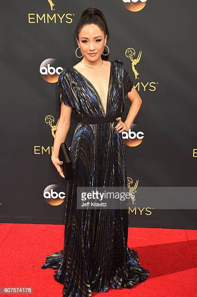 Actress Constance Wu attends the 68th Annual Primetime Emmy Awards at Microsoft Theater on September 18 2016 in Los Angeles California