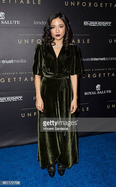 Actress Constance Wu attends the Asian American Awards Unforgettable Gala at The Beverly Hilton Hotel on December 12 2015 in Beverly Hills California