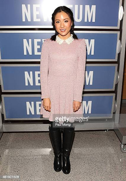 Actress Constance Wu attends the 'Fresh Off The Boat' Washington DC Screening at The Newseum on January 21 2015 in Washington DC