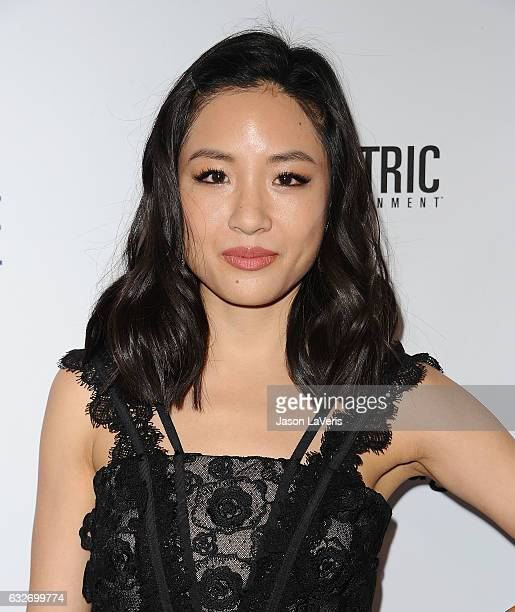 Actress Constance Wu attends the premiere of 'The Book of Love' at The Grove on January 10 2017 in Los Angeles California