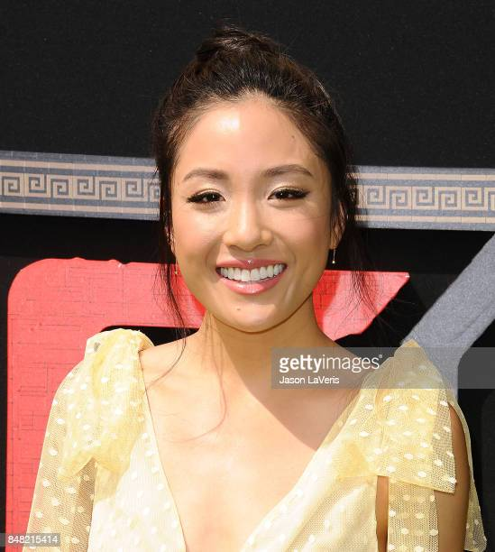 Actress Constance Wu attends the premiere of 'The LEGO Ninjago Movie' at Regency Village Theatre on September 16 2017 in Westwood California