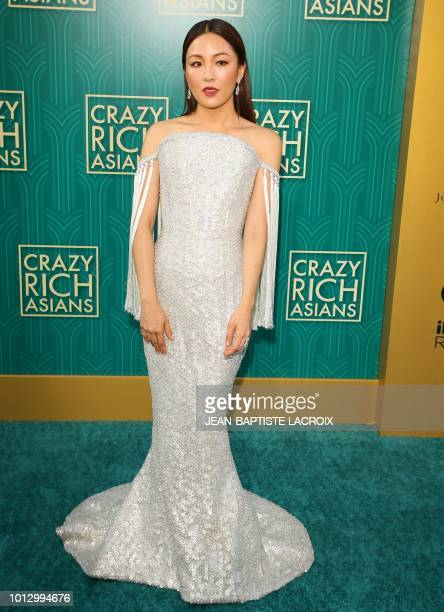 Actress Constance Wu attends the premiere of Warner Bros Pictures' 'Crazy Rich Asians' in Hollywood California on August 7 2018