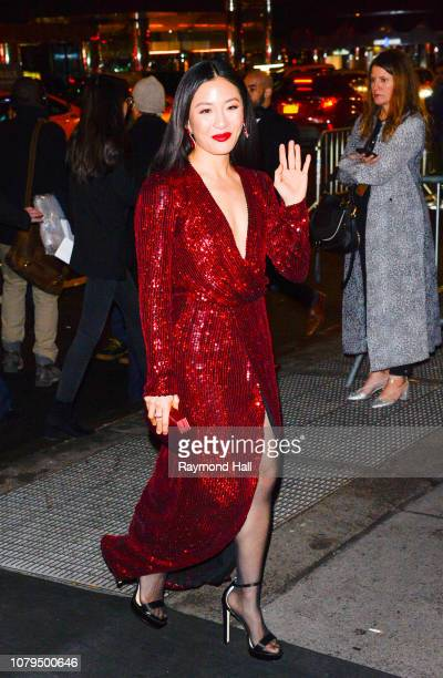 Actress Constance Wu is seen arriving to The National Board of Review Annual Awards Gala at Cipriani 42nd Street on January 8 2019 in New York City