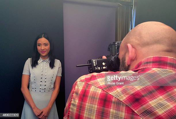 Actress Constance Wu of ABC's 'Fresh Off The Boat' attends the Getty Images Portrait Studio powered by Samsung Galaxy at 2015 Summer TCA's at The...