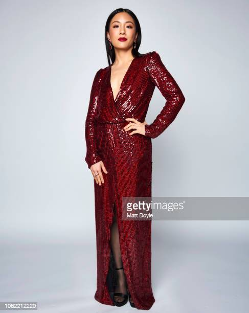 Actress Constance Wu poses for a portrait at The National Board of Review Annual Awards Gala on January 8 2019 at Cipriani 42nd Street in New York...