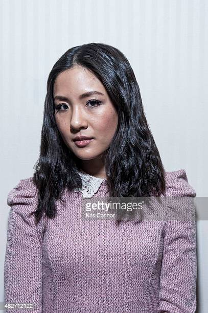 Actress Constance Wu poses for a portrait on January 21 2015 at the National Press Club in Washington DC