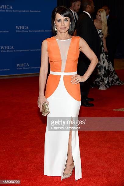 Actress Constance Zimmer attends the 100th Annual White House Correspondents' Association Dinner at the Washington Hilton on May 3 2014 in Washington...