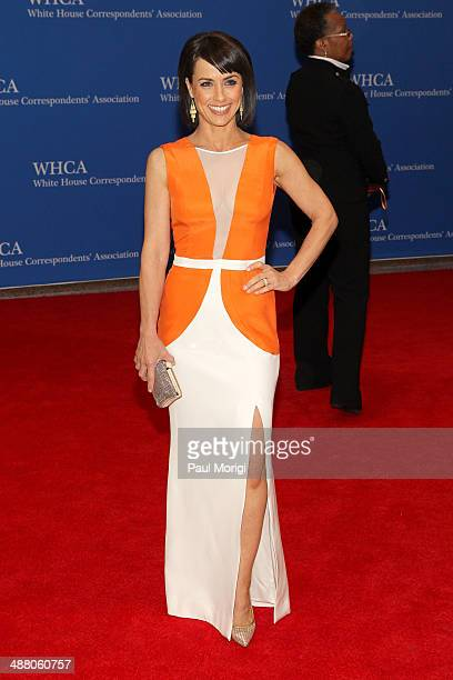 Actress Constance Zimmer attends the 100th Annual White House Correspondents' Association Dinner at the Washington Hilton on May 3, 2014 in...