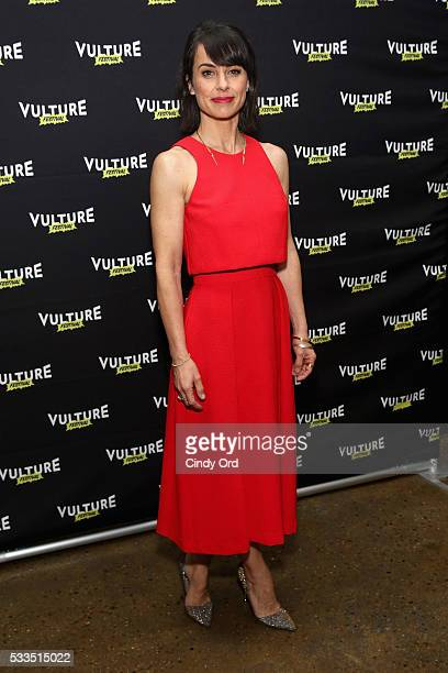 Actress Constance Zimmer attends the 2016 Vulture Festival at Milk Studios on May 22 2016 in New York City
