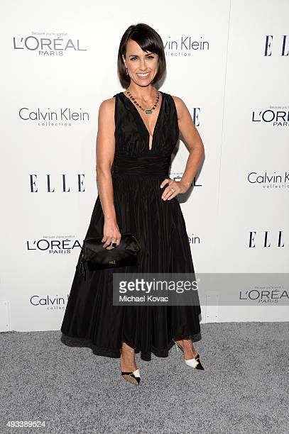 Actress Constance Zimmer attends the 22nd Annual ELLE Women in Hollywood Awards at Four Seasons Hotel Los Angeles at Beverly Hills on October 19 2015...