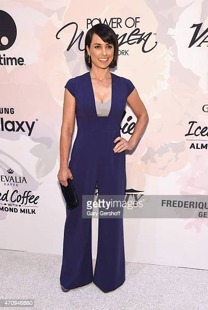 Actress Constance Zimmer attends the 2nd Annual Variety Power of Women New York Luncheon at Cipriani 42nd Street on April 24 2015 in New York City