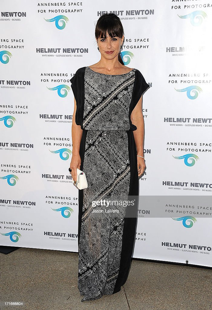 Actress Constance Zimmer attends the opening of 'Helmut Newton: White Women - Sleepless Nights - Big Nudes' at Annenberg Space For Photography on June 27, 2013 in Century City, California.