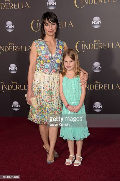 Actress Constance Zimmer attends the premiere of Disney's 'Cinderella' at the El Capitan Theatre on March 1 2015 in Hollywood California