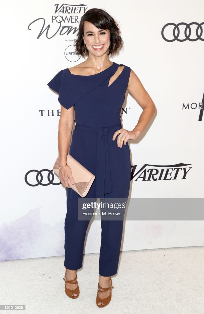 Actress Constance Zimmer attends the Variety's Power Of Women at the Beverly Wilshire Four Seasons Hotel on October 13, 2017 in Beverly Hills, California.