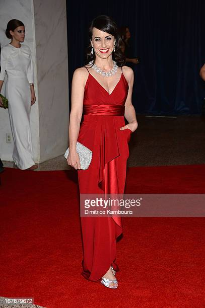 Actress Constance Zimmer attends the White House Correspondents' Association Dinner at the Washington Hilton on April 27 2013 in Washington DC