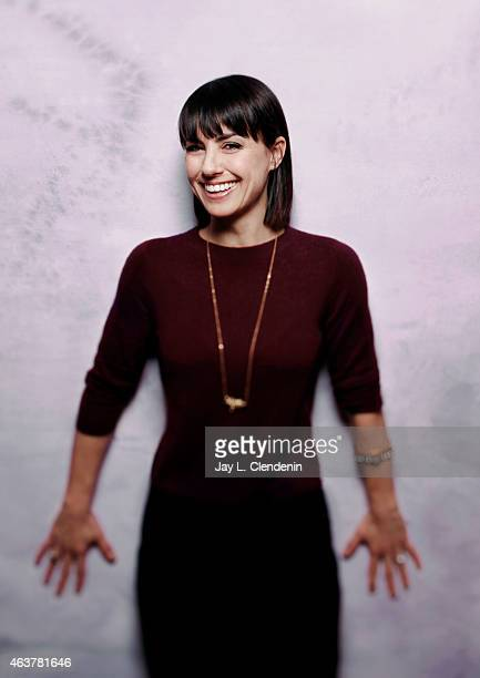 Actress Constance Zimmer is photographed for Los Angeles Times on January 24 2015 in Park City Utah PUBLISHED IMAGE CREDIT MUST READ Jay L...