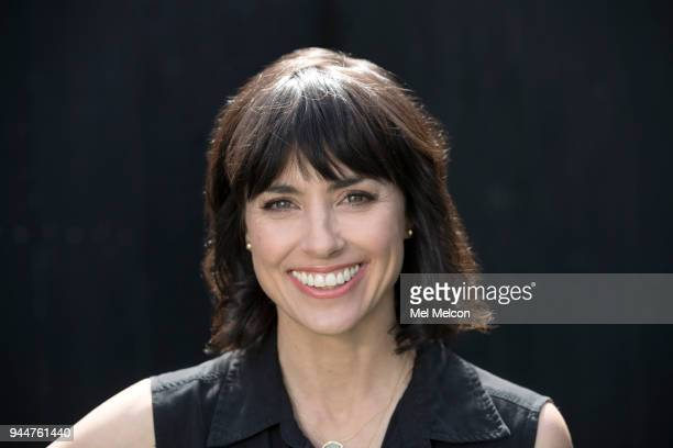 Actress Constance Zimmer is photographed for Los Angeles Times on March 30 2018 in Los Angeles California PUBLISHED IMAGE CREDIT MUST READ Mel...
