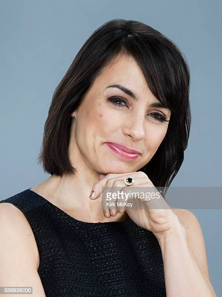 Actress Constance Zimmer is photographed for Los Angeles Times on June 6 2016 in Los Angeles California PUBLISHED IMAGE CREDIT MUST READ Kirk...