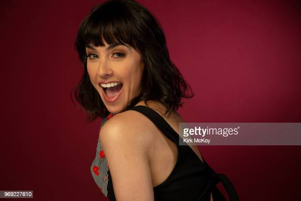 Actress Constance Zimmer is photographed for Los Angeles Times on May 22 2018 in Los Angeles California PUBLISHED IMAGE CREDIT MUST READ Kirk...