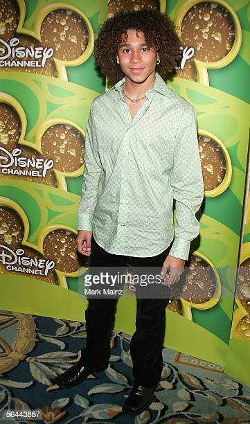 """Actress Corbin Bleu attends a breakfast with the cast and director of """"High School Musical"""" December 16, 2005 at the Four Seasons Hotel in Beverly..."""