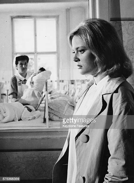Actress Cordula Trantow in a hospital scene from the film 'Don't Condemn the Young Sinners' October 18th 1961
