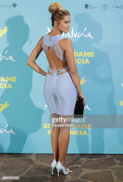 Actress Corina Randazzo attends the 'Senor dame paciencia' premiere at Fortuny Palace on June 15 2017 in Madrid Spain