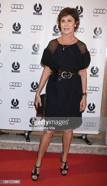 Actress Corinne Clery attends Audi A3 Cabriolet Style By Belstaff presentation at the Belstaff Boutique on October 6 2009 in Rome Italy