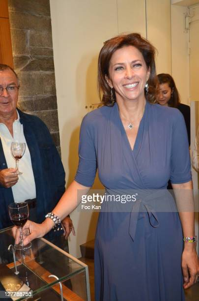 Actress Corinne Touzet attends the Chateau de La Connivence Launch Cocktail at Jaeger Lecoultre Vendome on May 30, 2011 in Paris, France.