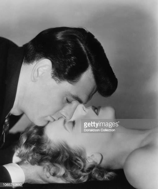 """Actress Cornell Borchers and Rock Hudson in a scene from the movie """"Never Say Goodbye"""""""