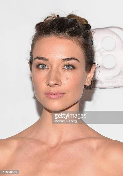 Actress Cortney Palm attends the premiere of JR Productions' Halloweed at TCL Chinese 6 Theatres on March 15 2016 in Hollywood California