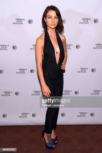 Actress Cortney Palm attends the Zombeavers Premiere during the 2014 Tribeca Film Festival at Chelsea Bow Tie Cinemas on April 19 2014 in New York...