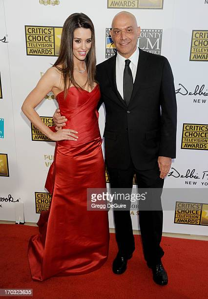 Actress Cory Oliver and Yossi Dina arrive at the Broadcast Television Journalists Association 3rd Annual Critics' Choice Television Awards at The...