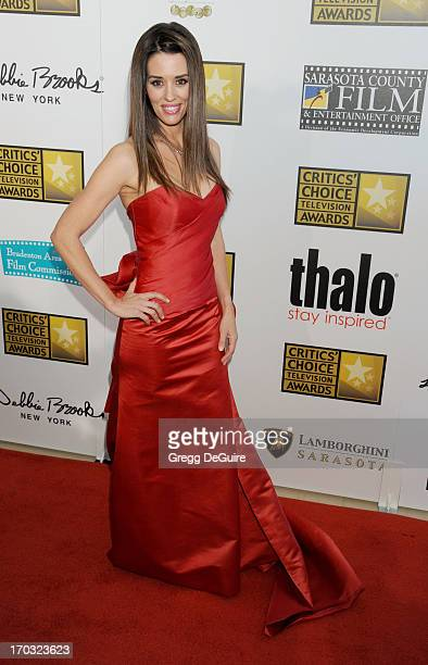 Actress Cory Oliver arrives at the Broadcast Television Journalists Association 3rd Annual Critics' Choice Television Awards at The Beverly Hilton...