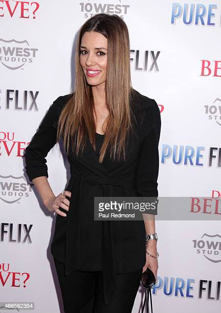 Actress Cory Oliver attends Do You Believe Los Angeles Premiere at ArcLight Hollywood on March 16 2015 in Hollywood California