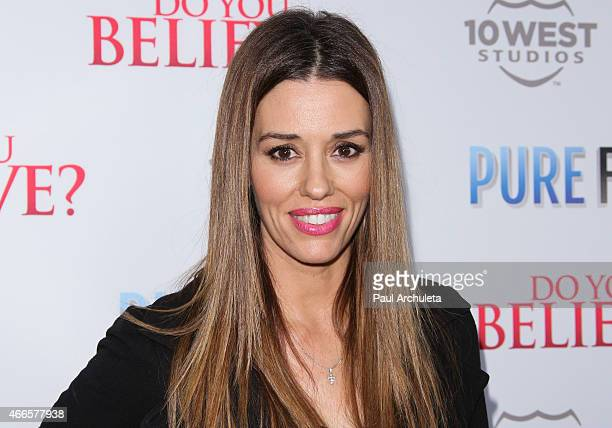 Actress Cory Oliver attends the Do You Believe premiere at ArcLight Hollywood on March 16 2015 in Hollywood California