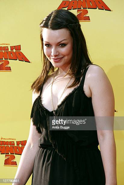 Actress Cosma Shiva Hagen Attends The Kung Fu Panda 2 Germany Premiere At The