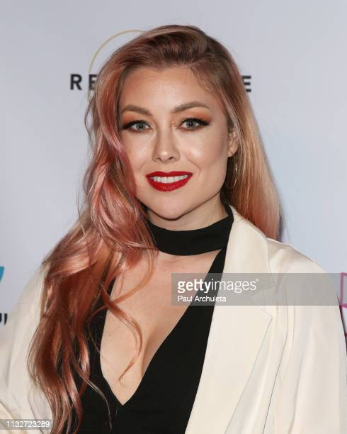 Actress Cosondra Sjostrom attends the premiere of Pretty Broken at the Laemmle NoHo 7 on February 27 2019 in North Hollywood California