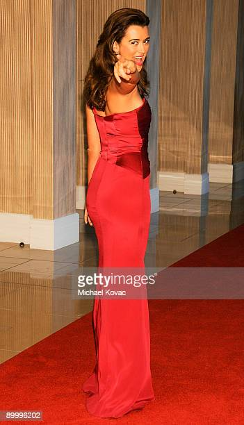 Actress Cote de Pablo arrives at the 24th Annual Imagen Awards at The Beverly Hilton Hotel on August 21 2009 in Beverly Hills California