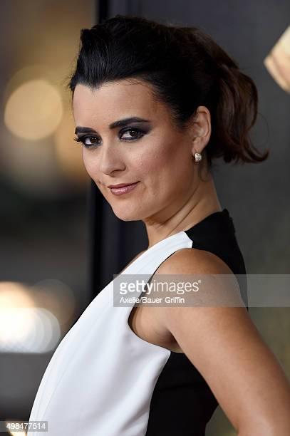 Actress Cote de Pablo arrives at the AFI FEST 2015 Presented By Audi Centerpiece Gala Premiere of 'The 33' at TCL Chinese Theatre on November 9 2015...