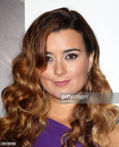 Actress Cote de Pablo attends The 14th Annual Latin GRAMMY Awards at the Mandalay Bay Events Center on November 21 2013 in Las Vegas Nevada