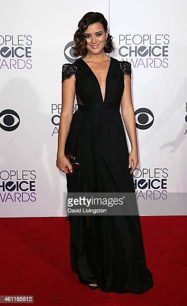 Actress Cote de Pablo attends the 2015 People's Choice Awards at the Nokia Theatre LA Live on January 7 2015 in Los Angeles California